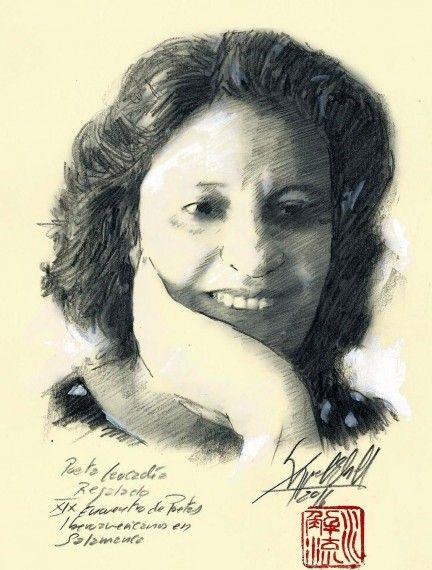 2 La poeta y ensayista Leocádia Regalo