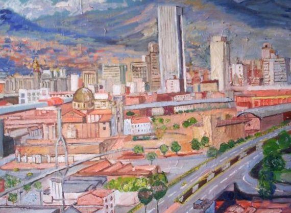 2 Panorámica de Medellín, de José Javier Mejia Palacio