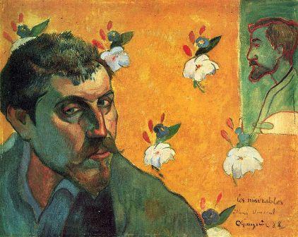3 Gauguin, Autorretrato (1888)