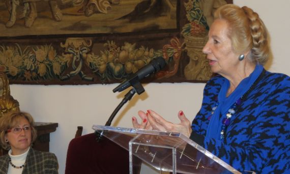 4 Pilar Fernández Labrador en la casa Museo Unamuno (Foto de jacqueline Alencar)