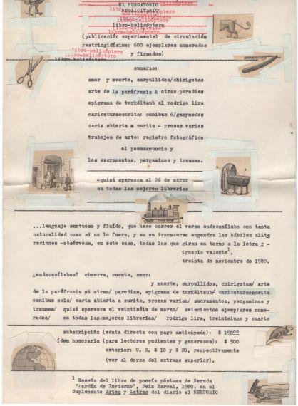 6 Parte de los textos inéditos publicados por Gatica
