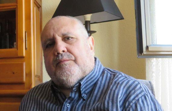 1 El escritor venezolano Enrique Viloria Vera (fotografía de Jacqueline Alencar)