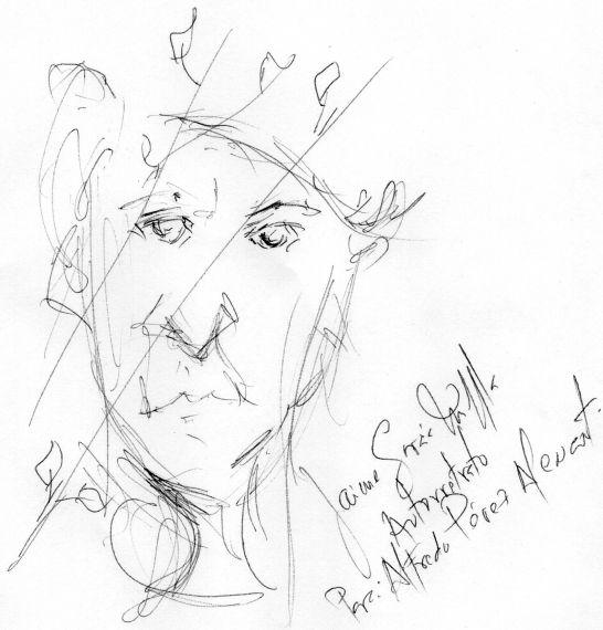2 Autorretrato de García Maffla, dedicado a A. P. Alencart (2017)