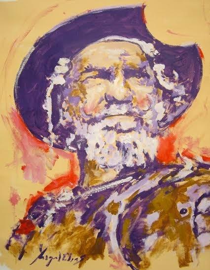 2 Don Quijote, de Miguel Elías (portada de Territorios de la pupila)