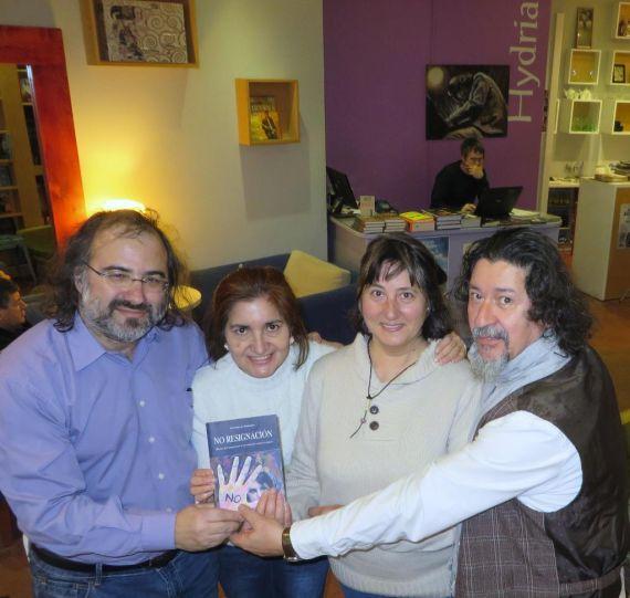 28 Alfredo Pérez Alencart, Jacqueline Alencar, Ángeles Gutiérrez y Xenaro Ovín, en Hydria (1024x768)
