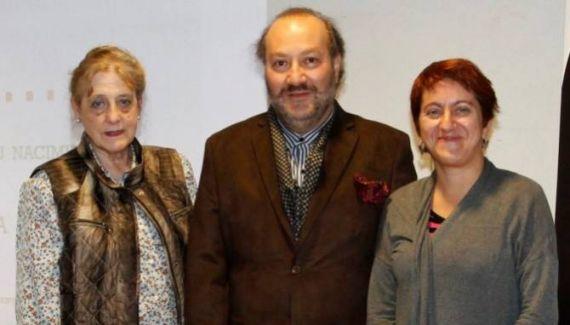 3 Carmen Ruiz Barrionuevo, Theodoro Elssaca y Mercedes García Montero