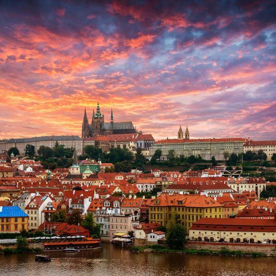 3 Vista de Praga