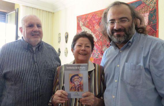 4 Enrique Viloria, Iraida Páez y Alfredo Pérez Alencart (fotografía de Jacqueline Alencar)
