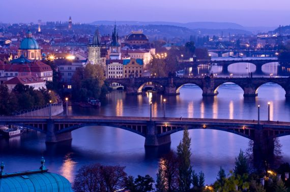 5 Puentes de Praga