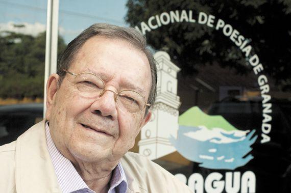 Francisco de Asis (chichi)Fernandez, poeta y escritor Ncaraguense.Pantasma 2 de febrero del 2015. Foto LA PRENSA/Manuel Esquivel
