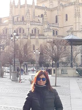 1 Ángela Gentile en Segovia