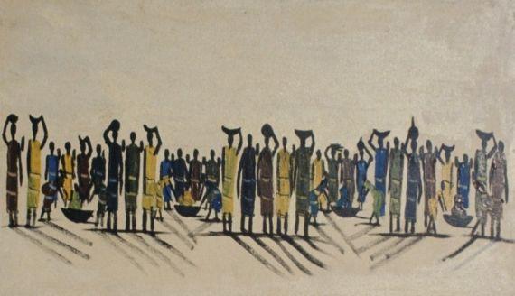1 Multitud, de pintor anonimo