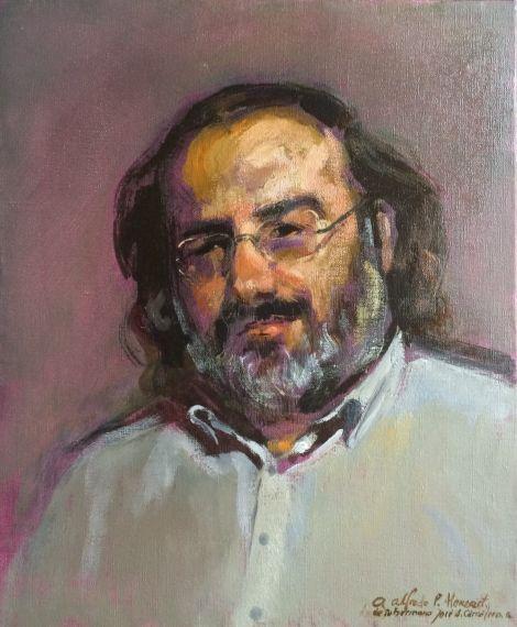 1 Retrato de Alfredo Pérez Alencart, de José Carralero (2016)