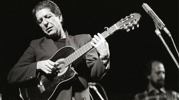 10 Leonard Cohen