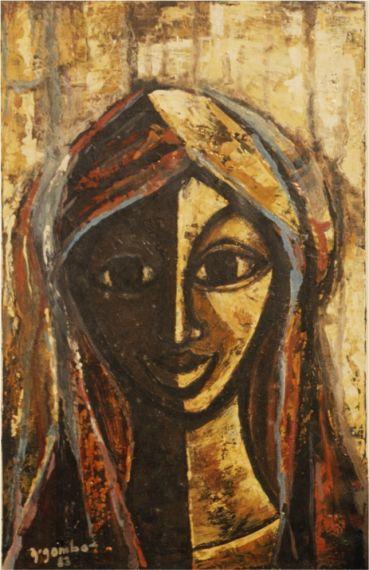 11 Retrato de Mujer, de NGombo