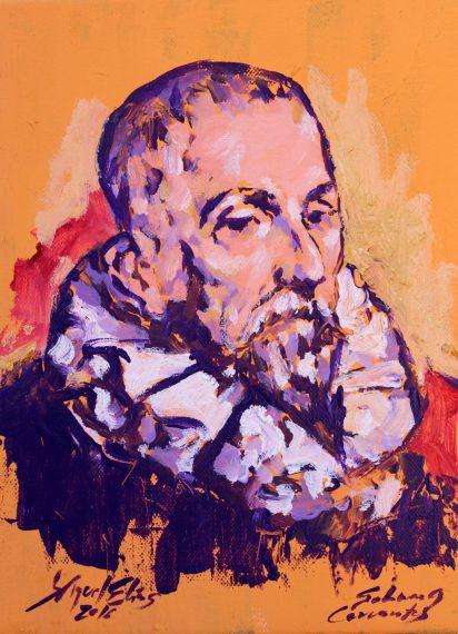 2 Retrato de Cervantes
