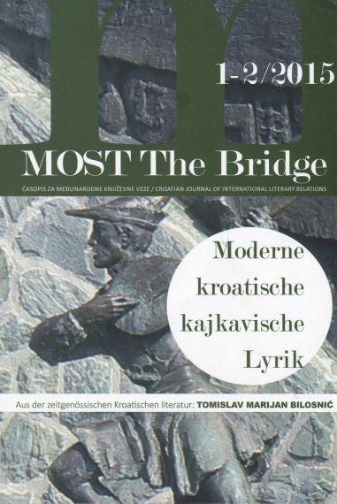 20 Numero de la revista Most, de la Sociedad de escritores Croatas, dedicado en parte al poeta Bilosnic