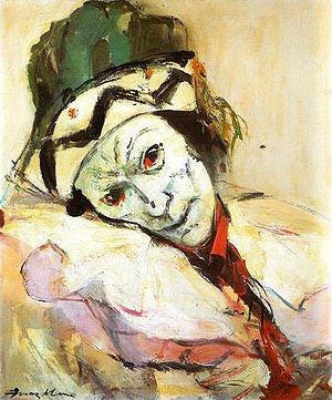 3 Nijinsky como Petrouchika, de Franz Kline