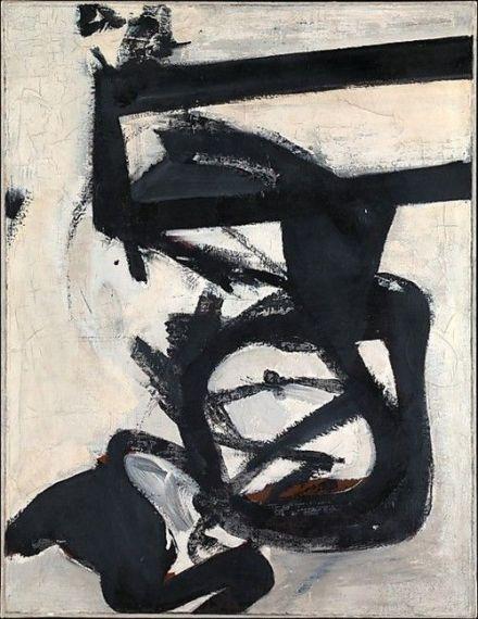 7 Franz Kline, Nijinsky, 1950