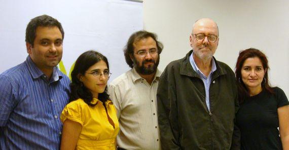 8 Vicente Justo Hermida, Esther Gambi, A. P. Alencart, Noll y Jacqueline Alencar (Foto de José da Costa)