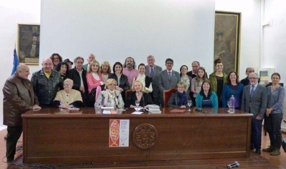 1 Poetas y músicos del VIII Encuentro (Foto de Alberto Sánchez)