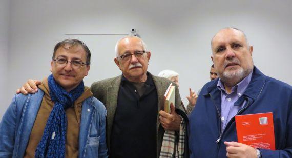 12 Miguel Elías, Pío E. Serrano y Enrique Viloria (2014, foto de Jacqueline Alencar)