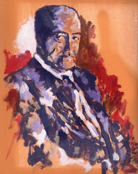 3 Retrato de Gastón Baquero por Miguel Elías (para el XVII Encuentro de Poetas Iberoamericanos, Salamanca, 2014)