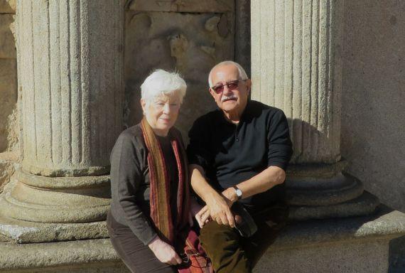5 Pío Serrano y su esposa, Aurora Calviño (2014, foto de Jacqueline Alencar)