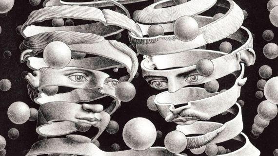5 Reflejos imposibles, de Escher