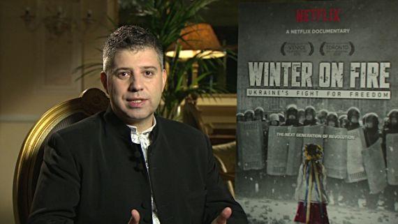 2 El realizador ruso Evgeny Afineevsky
