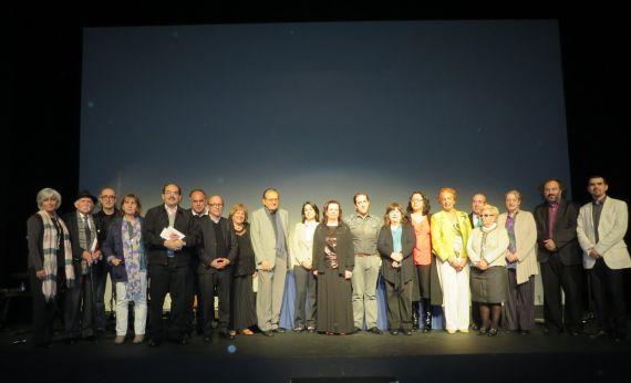 3 Algunos poetas y participantes del XVII Encuentro de Poetas Iberomamericanos en homenaje a León Felipe y Juan Ruiz Peña, entre ellos Carmen Ruiz Barrionuevo(Fotografía de Jacqueline Alencar)