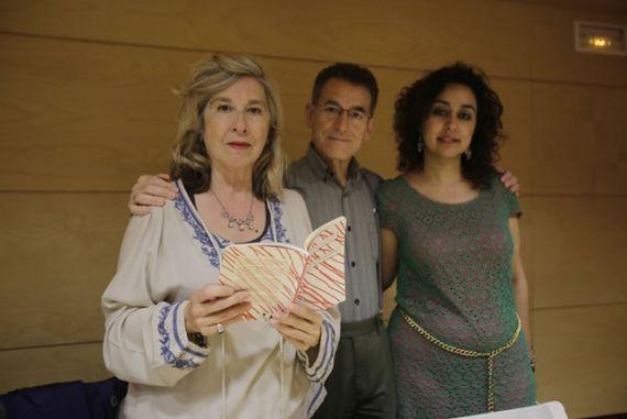 3 María Antonia García de León presentando su nuevo libro (Foto de Rueda Villaverde)