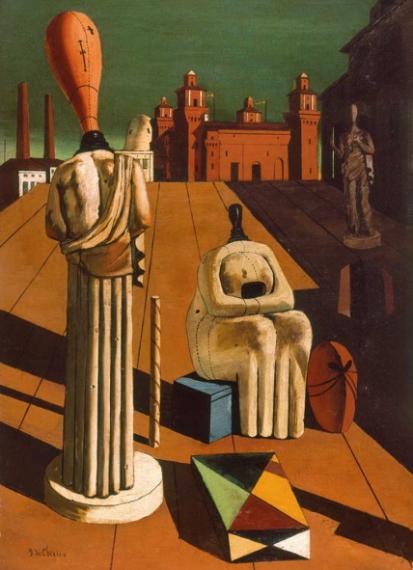 6 Las Musas inquietantes, de Giorgio de Chirico