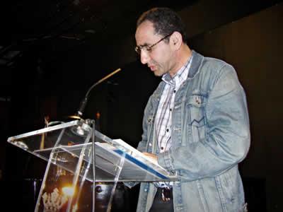 El poeta y traductor Khalid Raissouni