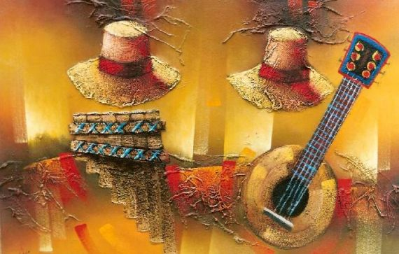 10 Sombreros andinos, de Alfredo Manrique Torres
