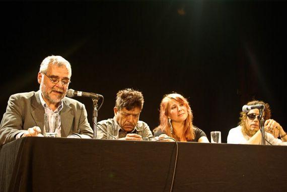 12 Los poetas José Pancorvo, Domingo de Ramos, Nora Alarcón y Rodolfo Ybarra