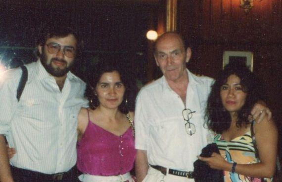 2 Alfredo Pérez Alencart, Jacqueline Alencar, Marcos Ana y Sylvia Miranda (Salamanca, 1989)