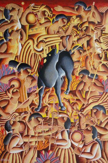 2 Yawar la leyenda, de Víctor Salvo (Lunahuaná, Cañete, Perú 1955)