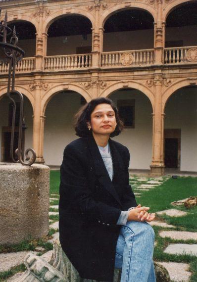 3 A Silda Cordoliani en Salamanca (foto de Jacqueline Alencar)