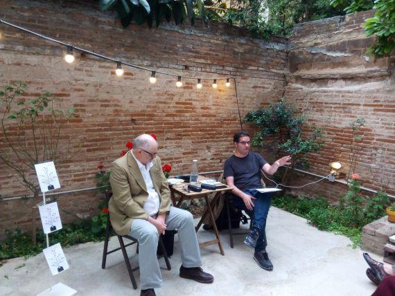 3 Carlos Vitale y Òscar Carreño, presentando Duermevela