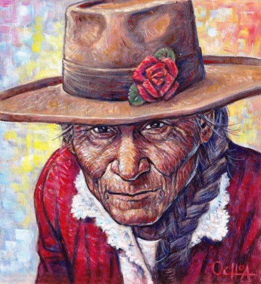 3 Pintura de Percy Ochoa Montúfar