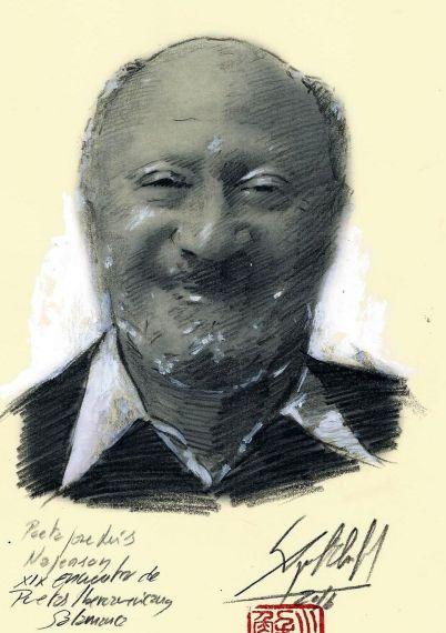 3 Retrato de José Luis Najenson, de Miguel Elías