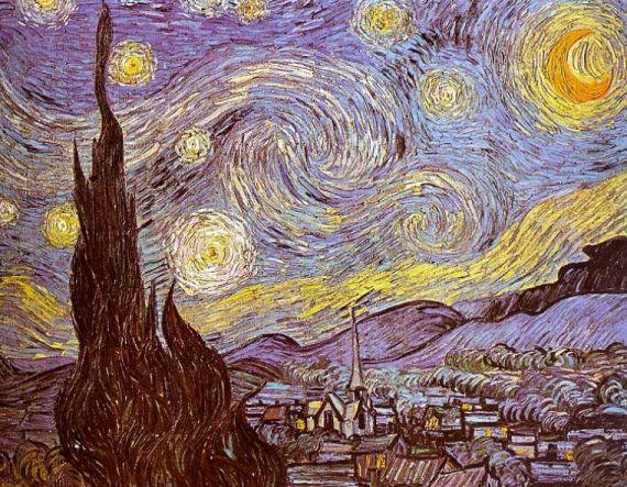 4 Van Gogh, La Noche Estrellada