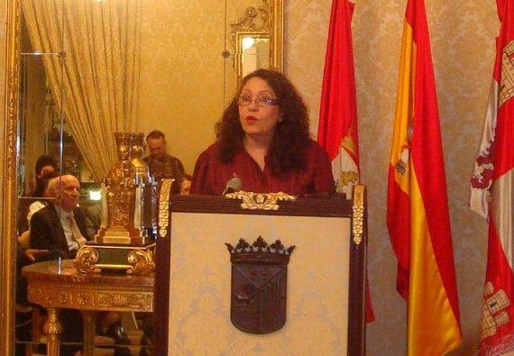 5 Edda Armas en el Ayuntamiento de Salamanca (2008, foto de Jacqueline Alencar)