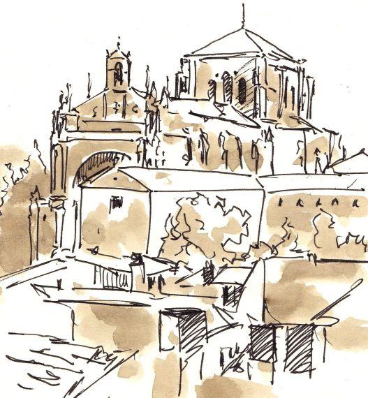 5 Vista de Salamanca desde la Torre del Marqués de Villena