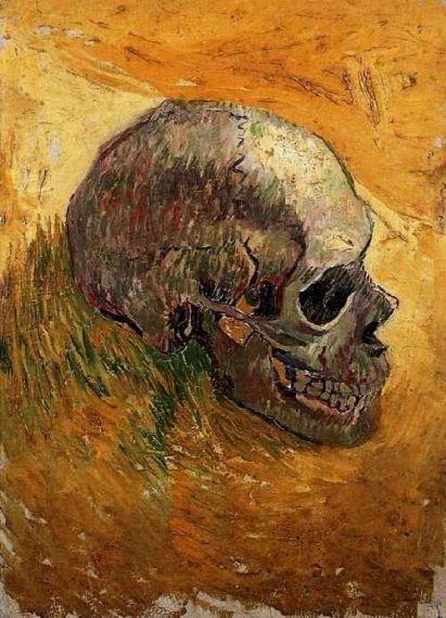 7 Cráneo, Van Gogh.