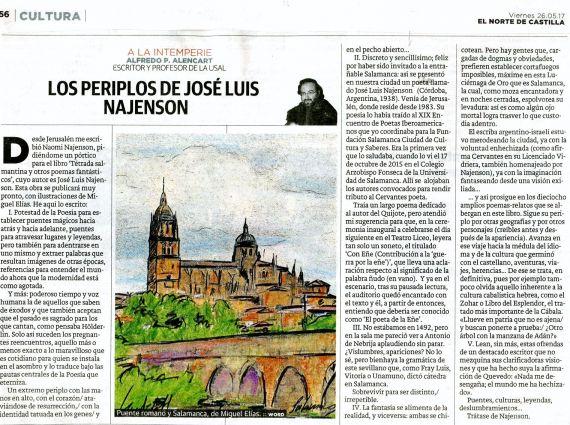 7 El pórtico de Alencart, publicado en El Norte de Castilla