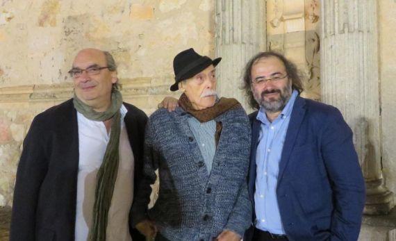 7 Muñoz Quirós, Tundidor y Alencart, en Salamanca (foto de jacqueline Alencar)