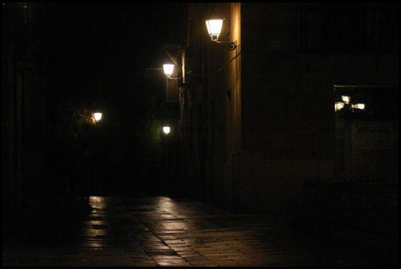 7 Salamanca de noche. fotografía de José Amador Martín