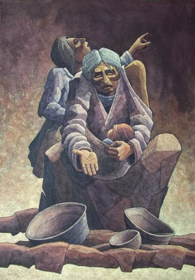 8 Ayúdame, de Alex Castro (Pacarán, Cañete. Perú 1959)